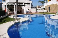 Apartment in Spain, Torrequebrada: Pool and BBQ area