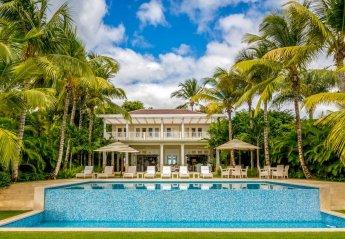 8 bedroom Villa for rent in La Romana, Dominican Republic