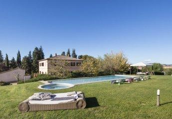 6 bedroom Villa for rent in Montalcino