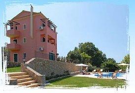 10 guest villa in Corfu