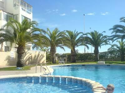Apartment in Spain, La Mata: beautiful gardens