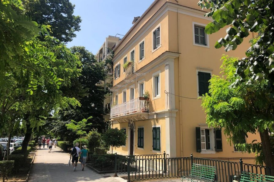 Owners abroad Stunning Classic Apartment in Corfu Town