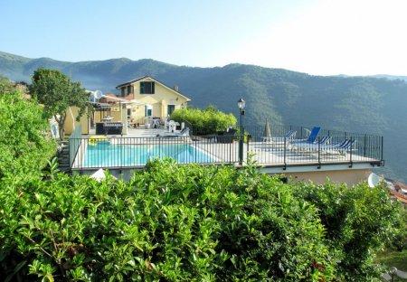 Villa in Valloria, Italy