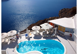Junior suite in Santorini