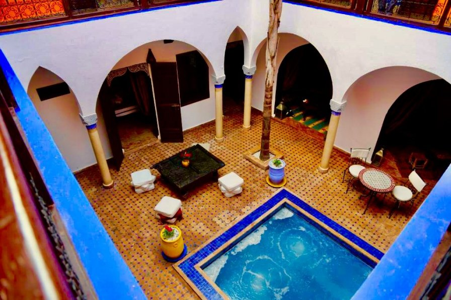 Riad in Morocco, Medina