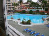 Apartment in Spain, Golf del Sur: balcony view