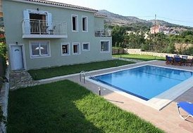 6 guest villa in Kefalonia