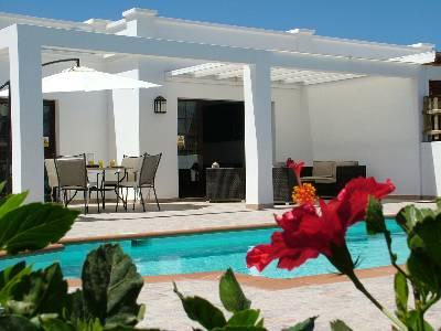 Villa in Spain, Playa Blanca: patio
