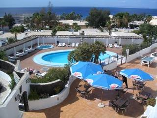 Apartment in Spain, Puerto del Carmen: Pool and Terrace