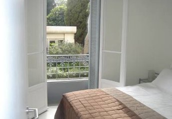 Apartment in France, Liberti-Albert 1er: Hugo Park 102 - Bedroom with king size bed