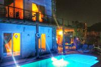 Villa in Turkey, Gumusluk: Magical Villa Priene @ night! 2015