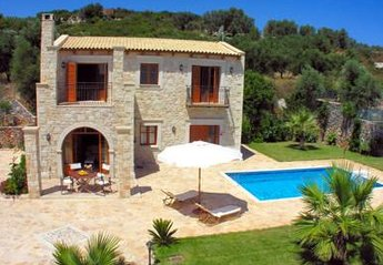 Villa in Greece, Agia Triada: Picture 1