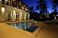 Villa in Thailand, Bangrak: Outdoor dusk