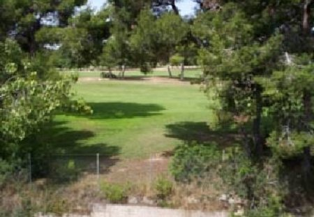 Apartment in San Miguel de Salinas, Spain: View of golf course from terrace