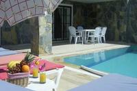 Villa in Turkey, Ladies Beach: Villa Lapis Pool Area