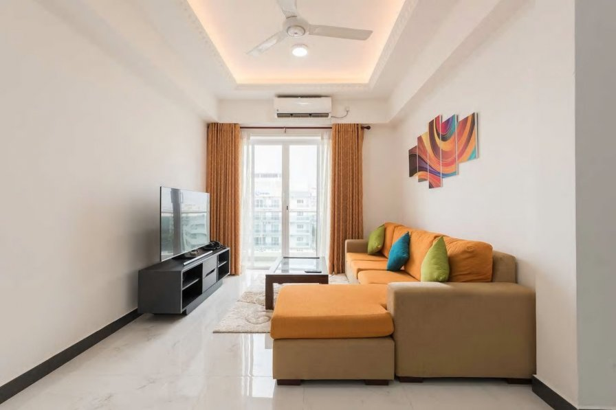 Owners abroad Fully Furnished 2 Bedroom Apartment with Sea View