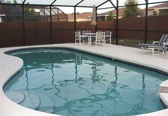 Villa in USA, Lake Davenport: Pool