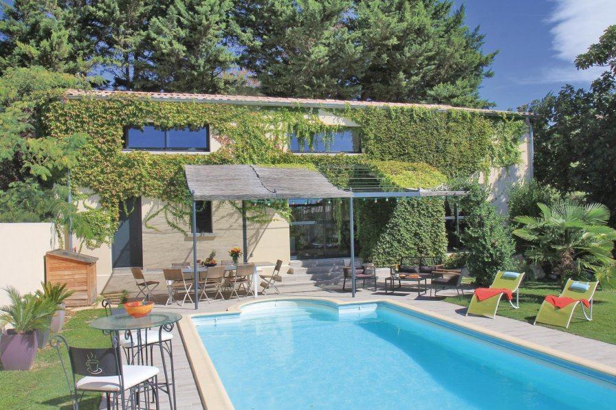 Villa in France, Sauzet