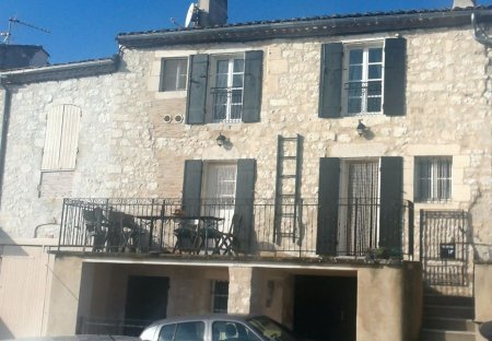 Town House in Monflanquin, France