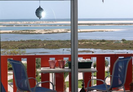 Apartment in Fuseta, Algarve: Stunning view over the Ria Formosa Natural Park