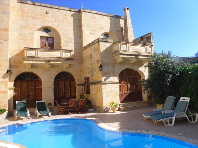 Villa in Malta, Island of Gozo