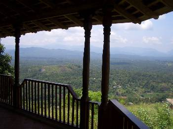Villa in Sri Lanka, Kandy: View From Bedrooms