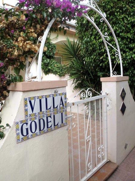 Owners abroad Villa Godeli Doña Pepa