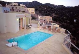 6 persons villa (3 bedrooms) in Crete