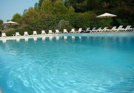 Villa in Brossac, France: Pool reserved for guests of Les Pinèdes