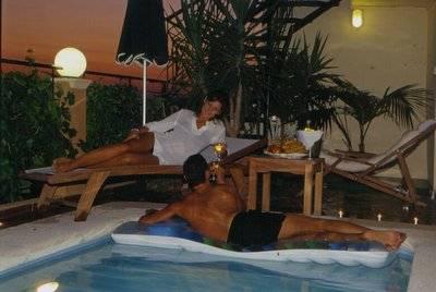 Villa in Greece, Chania region: Pool