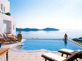 Villa in Greece, Elounda: Pool
