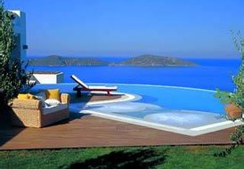 6 guest luxury villa in Elounda