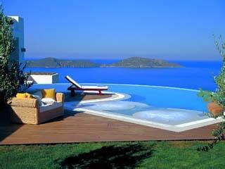 Villa in Greece, Elounda: Pool