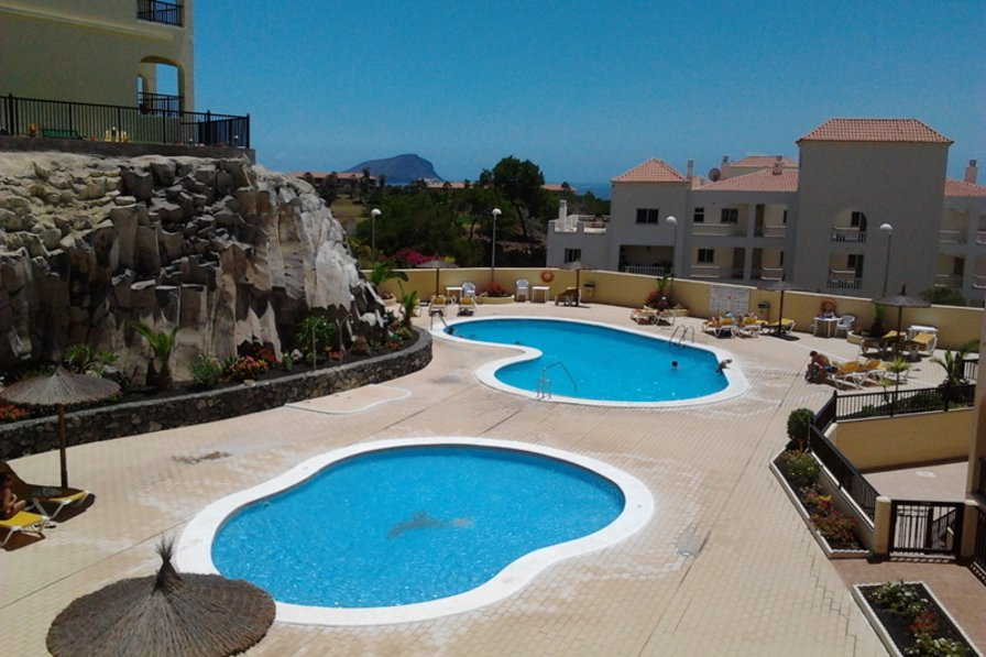 Apartment in Spain, Golf del Sur: Heated Pool and Children's Pool