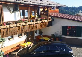 House in Schwarzenberg, Austria