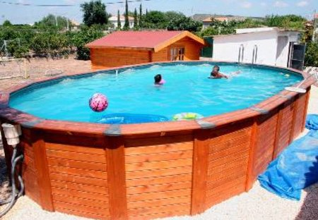 Villa in Xàtiva, Spain: Private Pool with Sunbathing Area