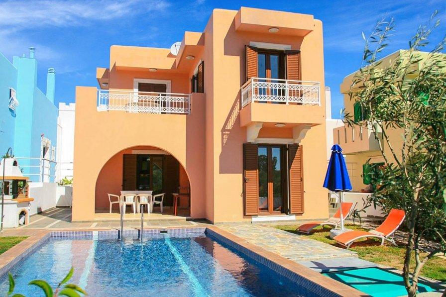 Owners abroad Villa Kassos