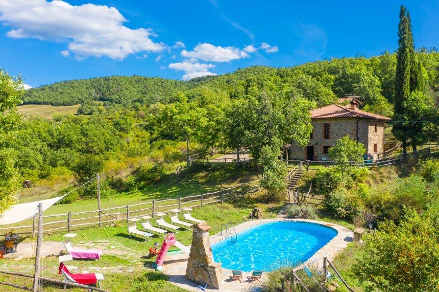 Villa in Italy, Ortignano Raggiolo