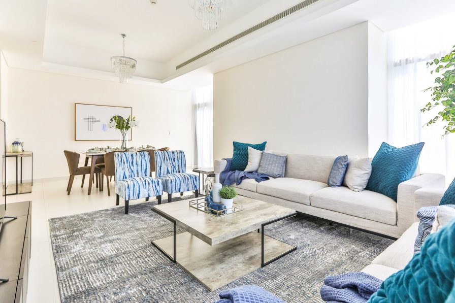 Owners abroad Brandnew 2 BR + Maids in Mada Residences Downtown