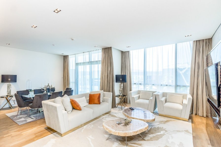 Owners abroad Spacious 3Bed Close to City Walk Mall in City Walk B1'204