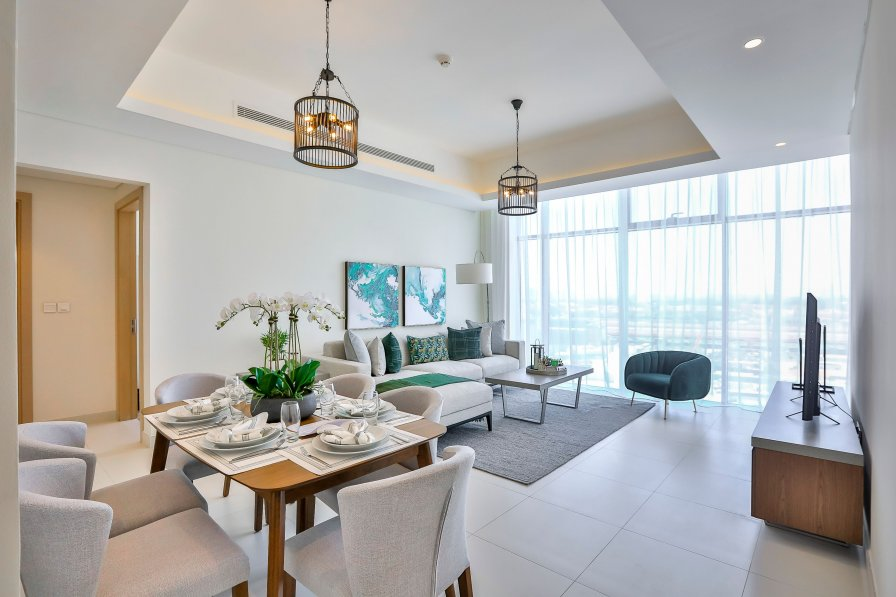 Owners abroad 1 BR + Study in A Brand-New Apt. - Mada Residences