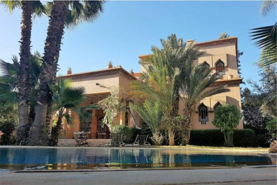 Owners abroad Spacious Villa Marrakech, Amelkis Golf, with private pool