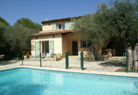 Villa in Les Aspres Plan Sarrain, the South of France