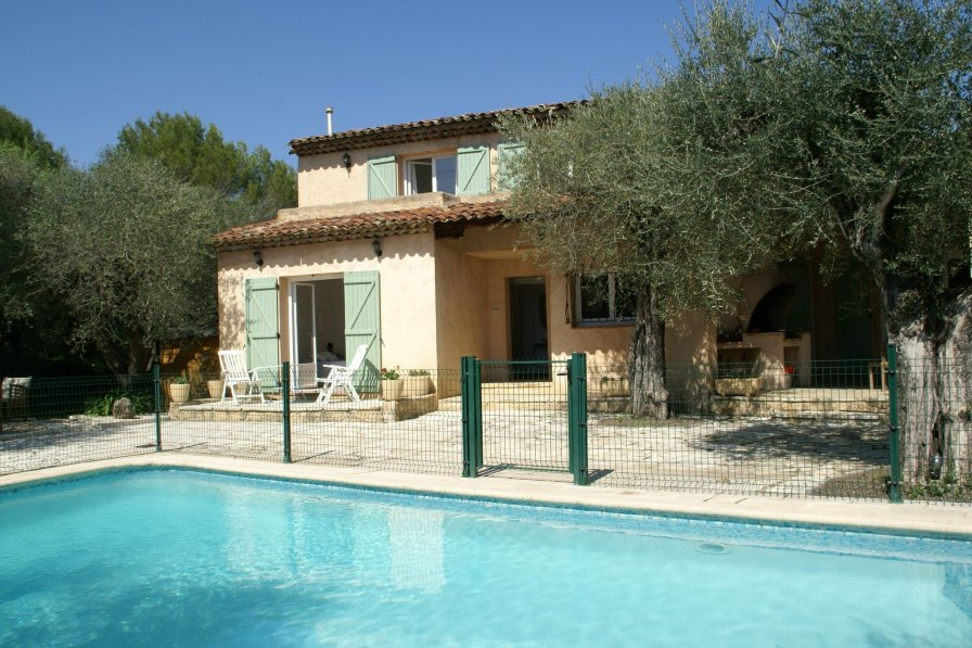 Villa in France, Les Aspres Plan Sarrain