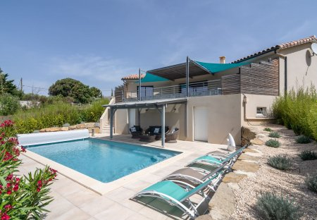 Villa in Cesseras, the South of France