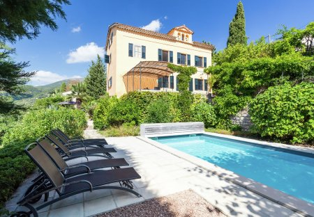 Villa in Saint-Francois (Grasse), the South of France