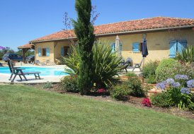 Villa in Bourrouillan, the South of France
