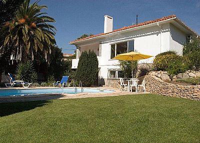 Villa in Portugal, Sintra: Pool area