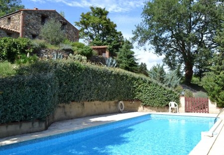 Farm House in Prunet-et-Belpuig, the South of France