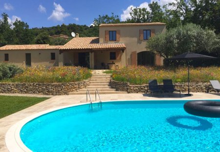 Villa in Tourtour, the South of France